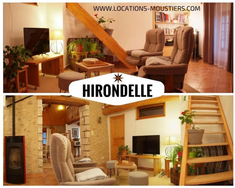 Appartement Hirondelle pour 2 avec terrasse