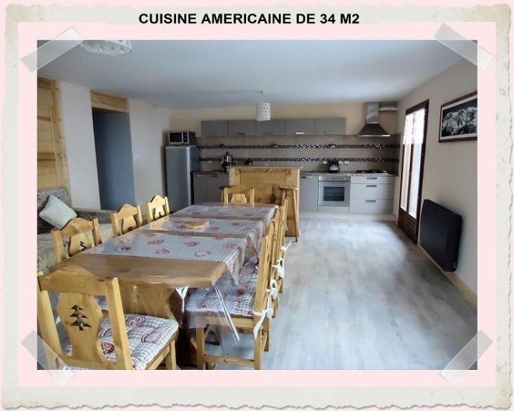 Cuisine americaine 36m2 appart Gentiane