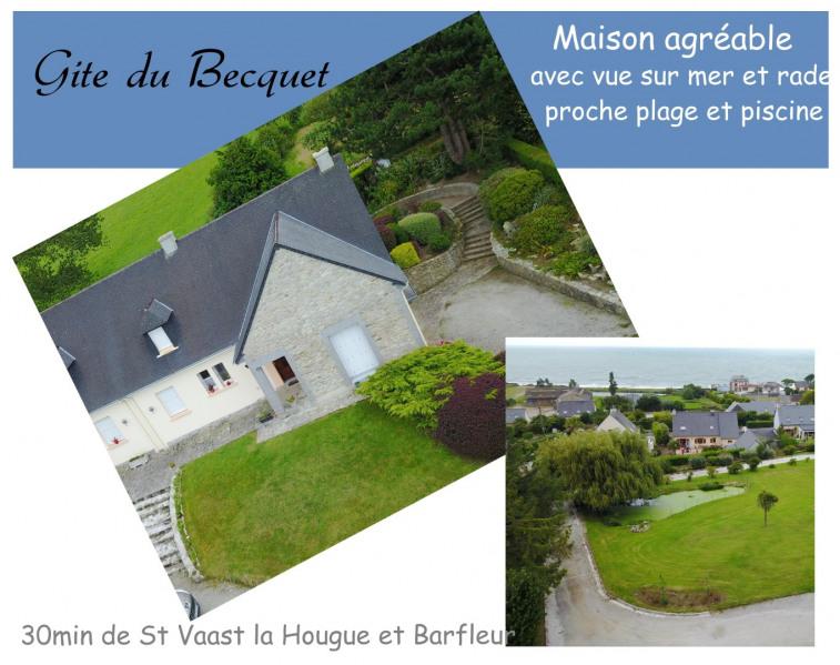 Location vacances Tourlaville -  Gite - 9 personnes - Barbecue - Photo N° 1