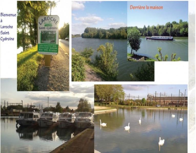 """Maison familiale  """"L'Etonnante Bourgogne"""" au bord de l'Yonne"""