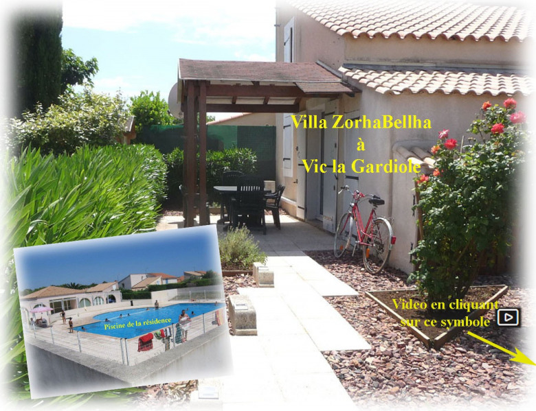 Location vacances Vic-la-Gardiole -  Maison - 5 personnes - Barbecue - Photo N° 1