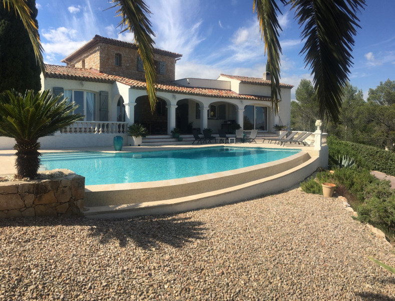 Holiday rentals Roquebrune-sur-Argens - House - 8 persons - BBQ - Photo N° 1