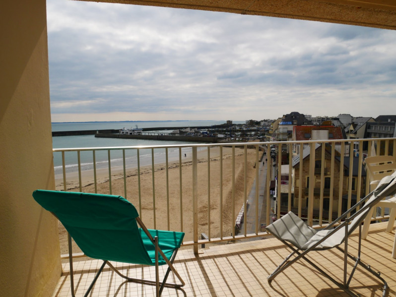 Location vacances Quiberon -  Appartement - 2 personnes - Salon de jardin - Photo N° 1