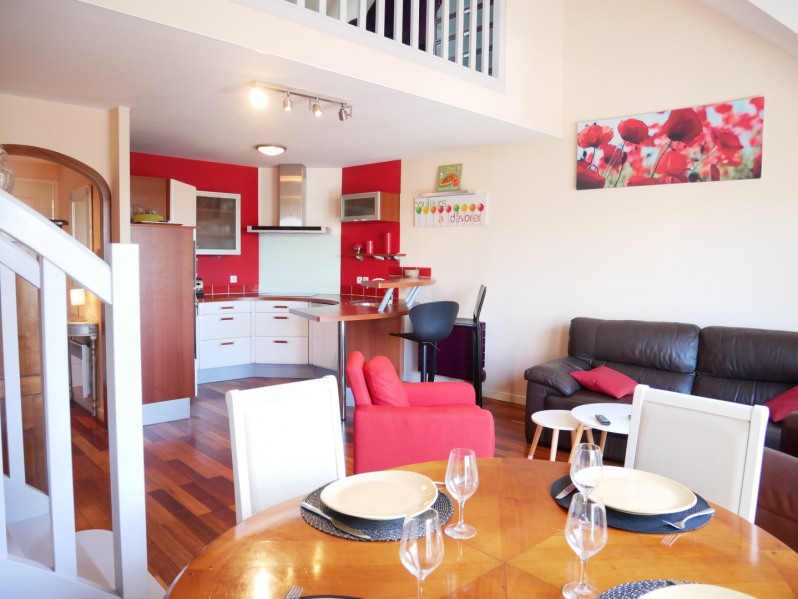 Carnac, appartment 2 rooms + mezzanine