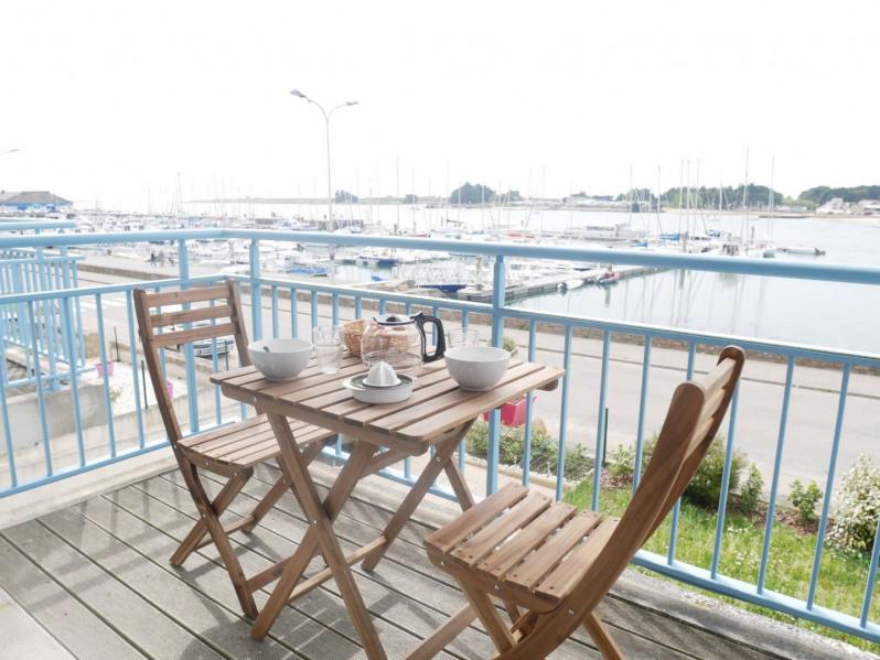 Location vacances Étel -  Appartement - 4 personnes - Salon de jardin - Photo N° 1