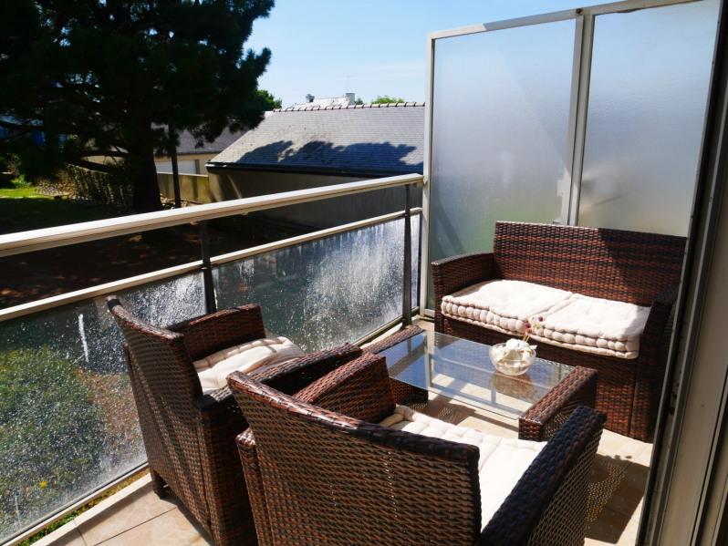 Location vacances Quiberon -  Appartement - 3 personnes - Salon de jardin - Photo N° 1