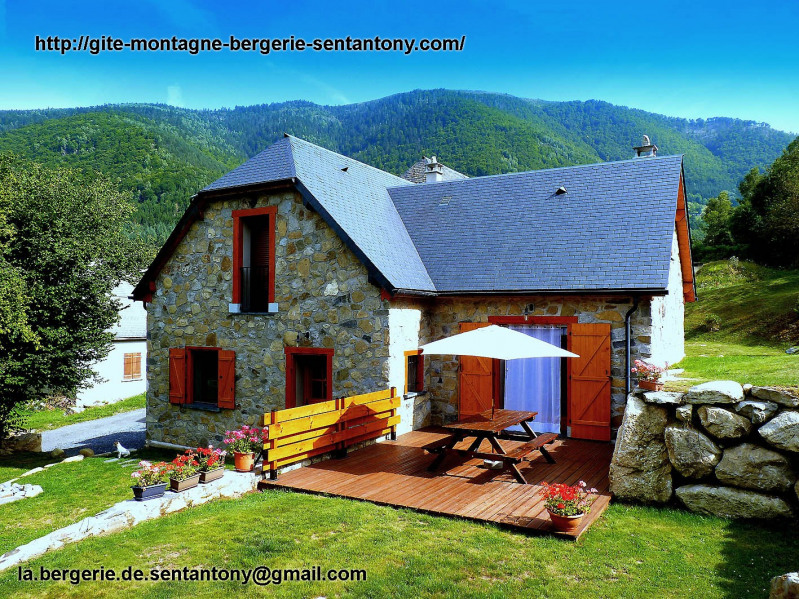 Location vacances Bun -  Gite - 4 personnes - Barbecue - Photo N° 1