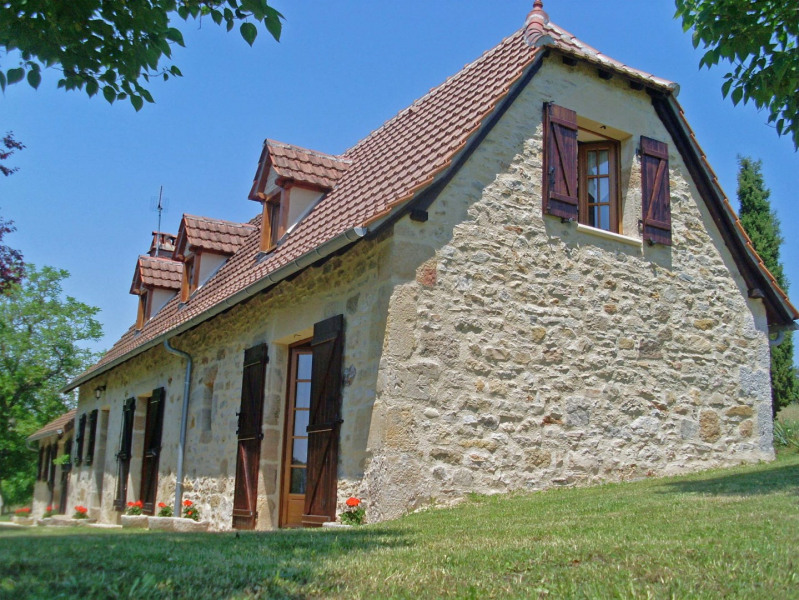 Holiday rentals Fourmagnac - House - 8 persons - BBQ - Photo N° 1
