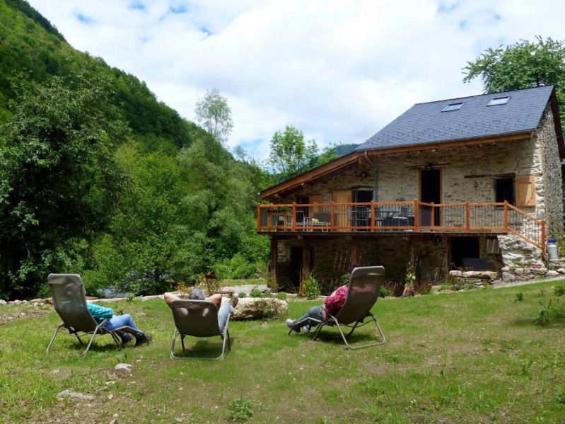 Location vacances Siguer -  Gite - 5 personnes - Barbecue - Photo N° 1