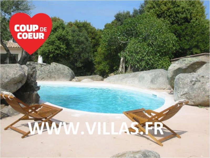 Location vacances Porto-Vecchio -  Maison - 6 personnes - Barbecue - Photo N° 1