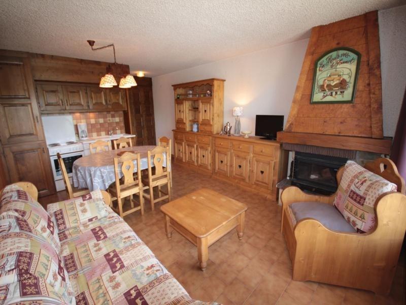 Les Saisies - Beau 2 pièces cabine avec cheminée 6 pers