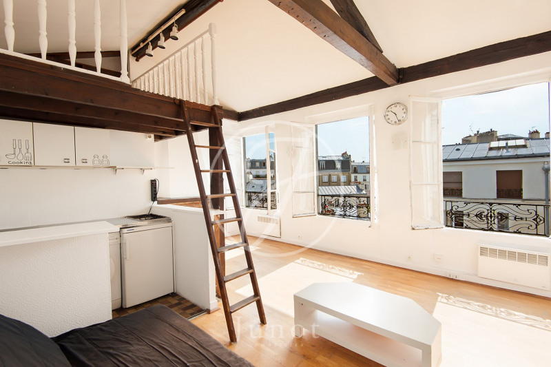 Vente Studio 25,9m² Paris 3ème