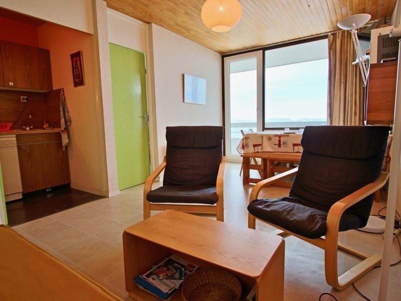Appartement  2 pièces 6 personnes au pied des pistes avec magnifique vue panoramique sur VERCORS et vallée.