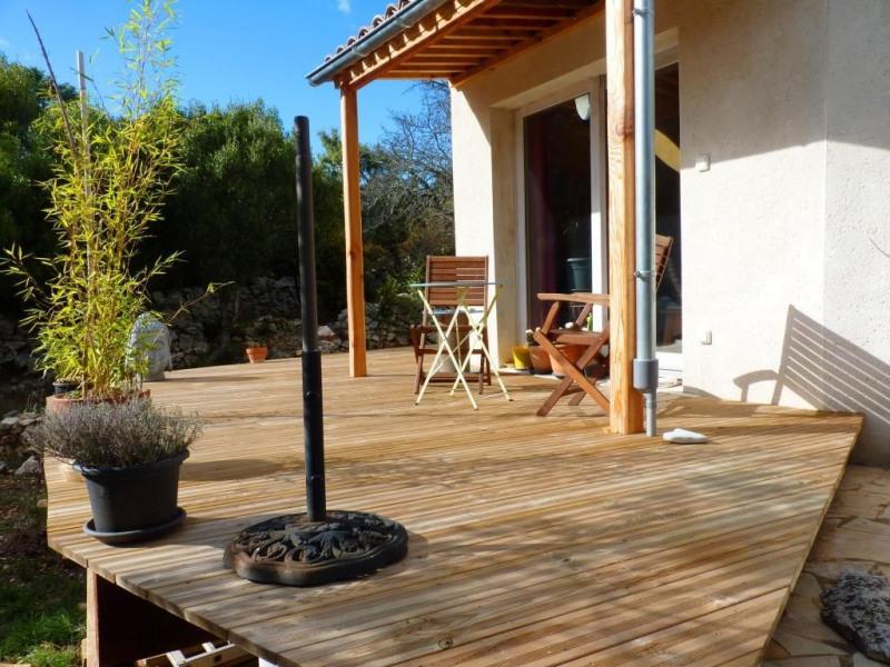 Terrasse accés jardin