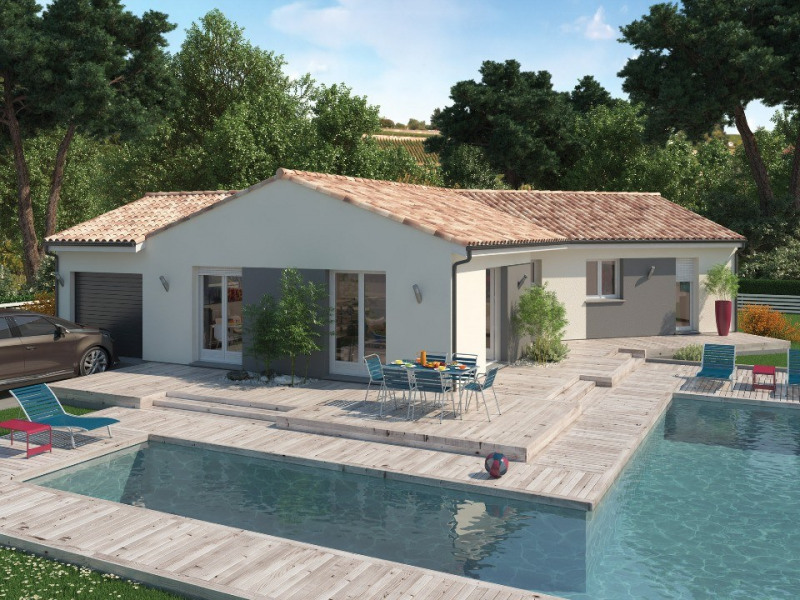 Maison  4 pièces + Terrain 1000 m² Casteljaloux par MAISONS M.C.A. SAINTE BAZEILLE