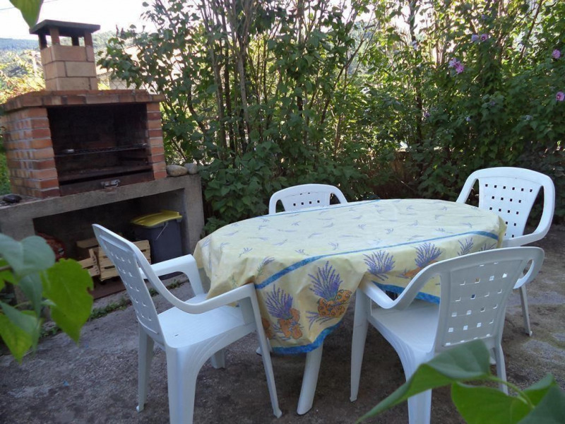 Location vacances Lalevade-d'Ardèche -  Appartement - 4 personnes - Barbecue - Photo N° 1