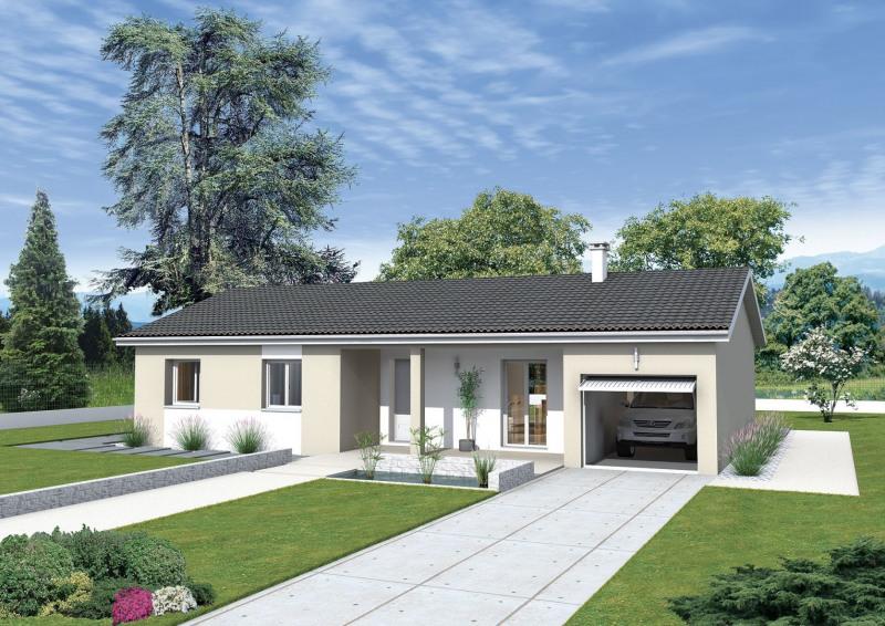 Maison  4 pièces + Terrain 1068 m² Buellas par MAISONS PUNCH
