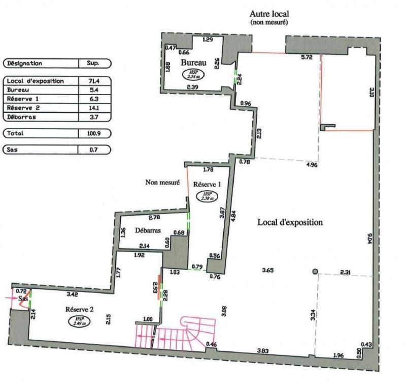 location bureau paris 6 me paris 75 195 m r f rence n 592022. Black Bedroom Furniture Sets. Home Design Ideas