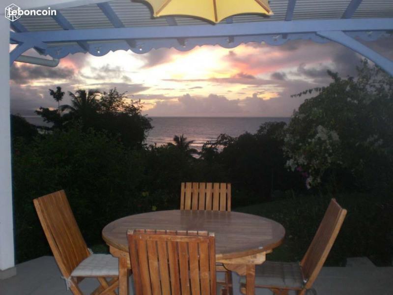 Terrasse au coucher de soleil