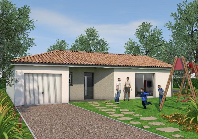 Maison  4 pièces + Terrain 720 m² Souprosse par BATI SOFT CONSTRUCTION - MONT DE MARSAN
