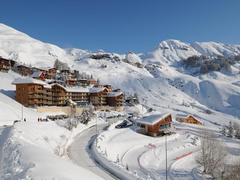 Trois pièces 8 pers. résidence ROND POINT DES PISTES 1 - centre station à Orcières Merlette - Alpes du Sud