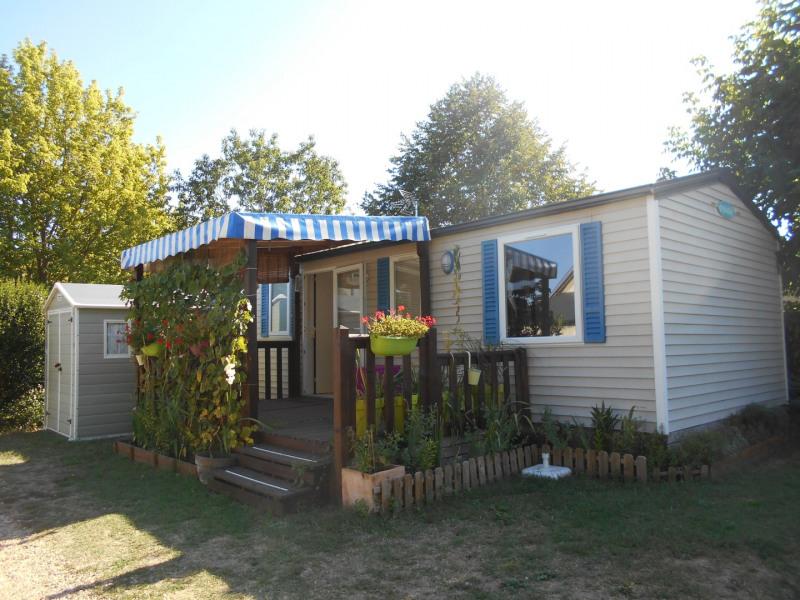 Location mobile home dans camping 4 étoiles.