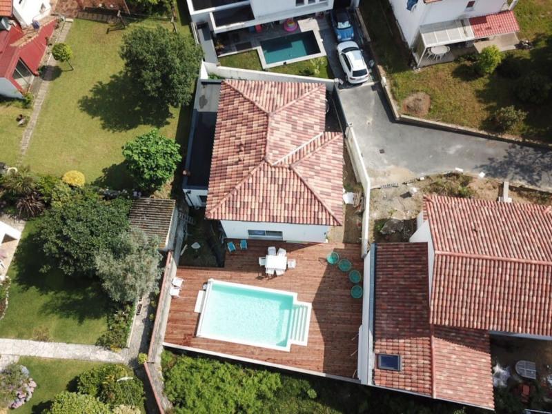 Villa Chistera terrasse, piscine, près des plages