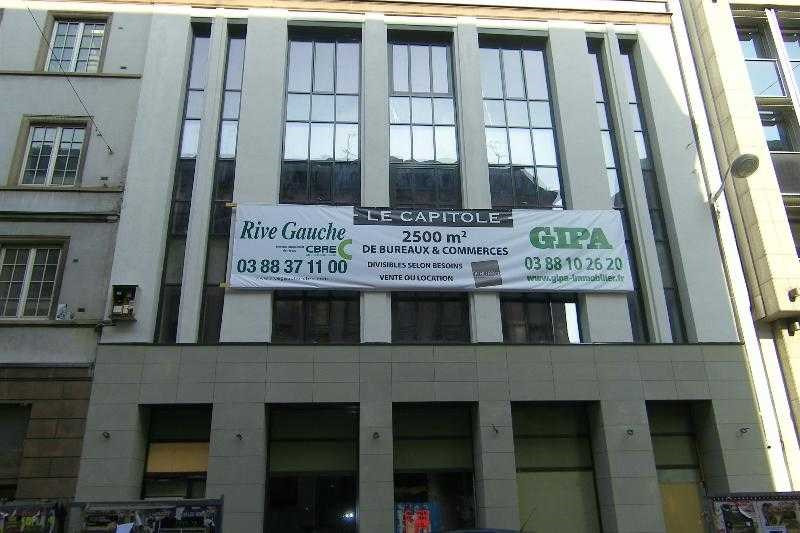 vente bureau strasbourg bas rhin 67 495 m r f rence n 586473. Black Bedroom Furniture Sets. Home Design Ideas