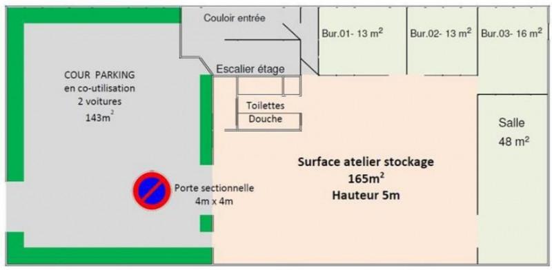 Location Local d'activités / Entrepôt Les Pavillons-sous-Bois