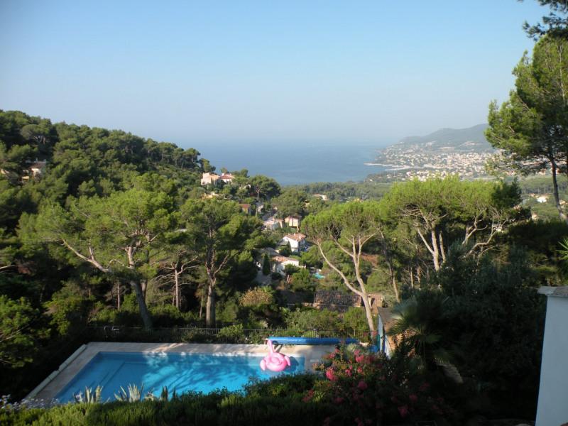 Appartement dans villa plein sud, vue mer, avec piscine à La Californie, CARQUEIRANNE