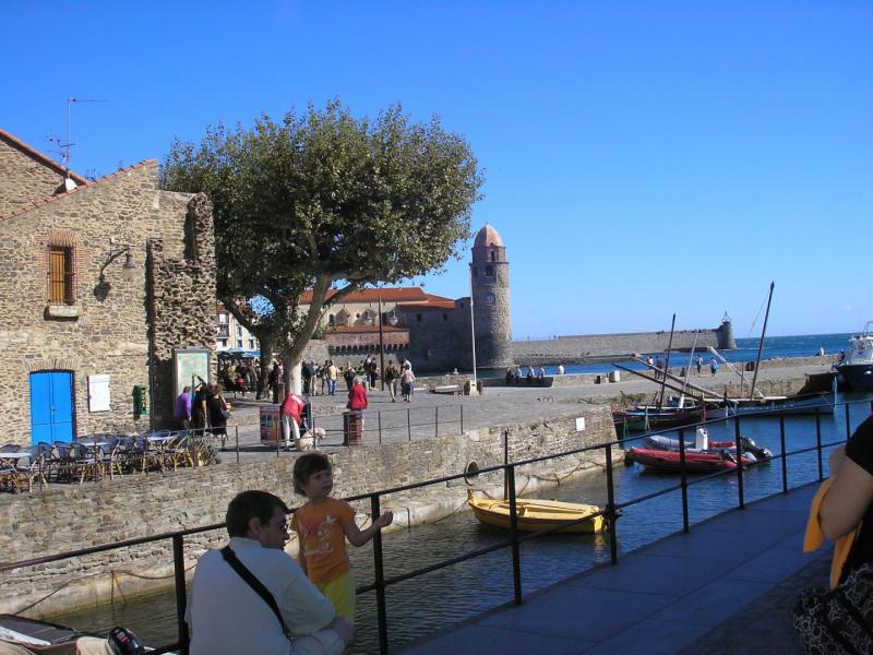 Vue classique de Collioure