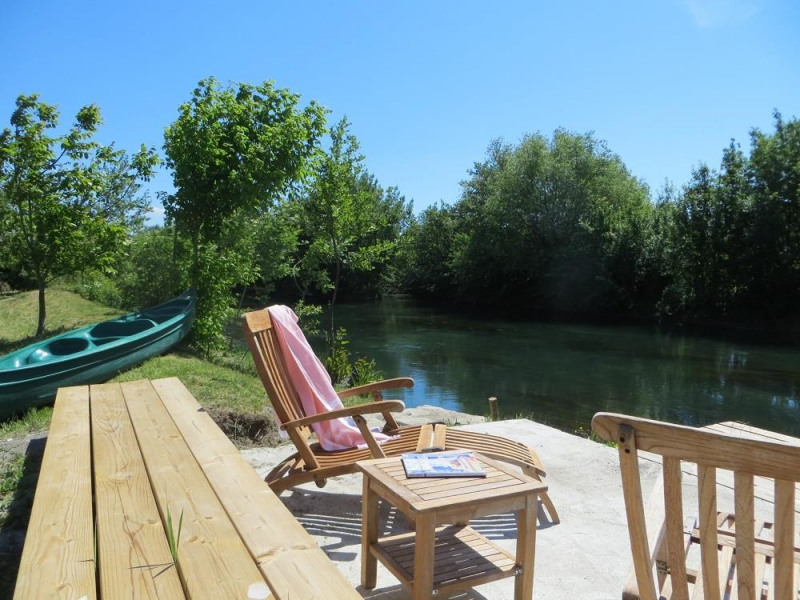 """Au bord de rivière """"La Sorgue"""""""