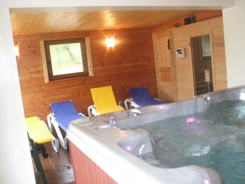 Espace détente avec Spa Jacuzzi Sauna