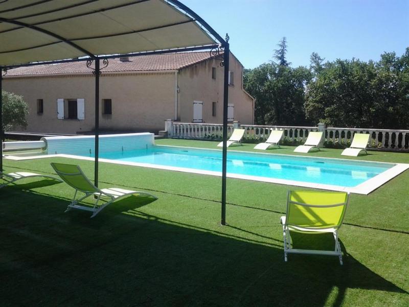 Location vacances avec piscine privée au cœur du Luberon pour 12 personnes