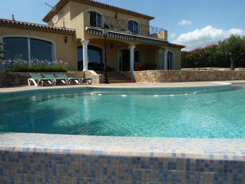 Villa provençale unique, vue sur mer, style unique