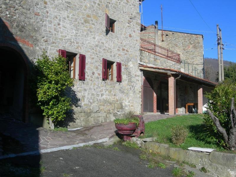 terrasse couverte et jardin