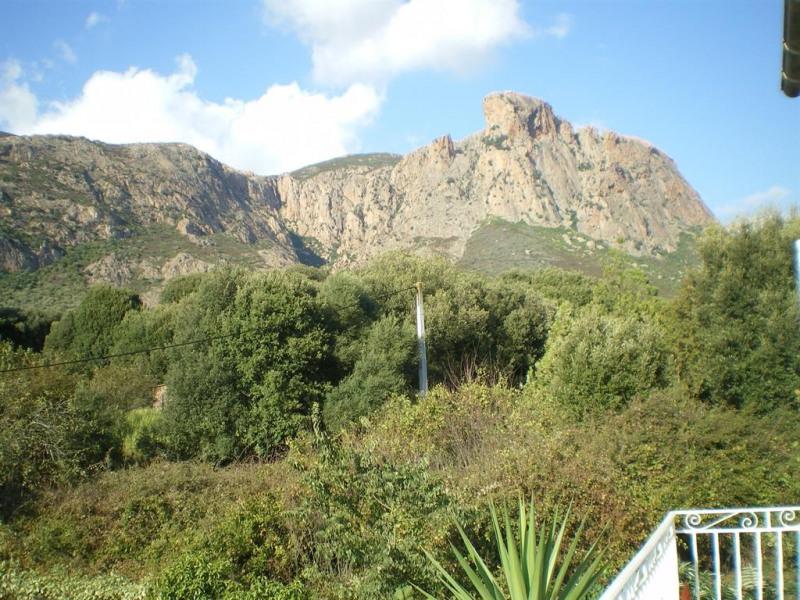 Vu sur monte Gozzi 716 m
