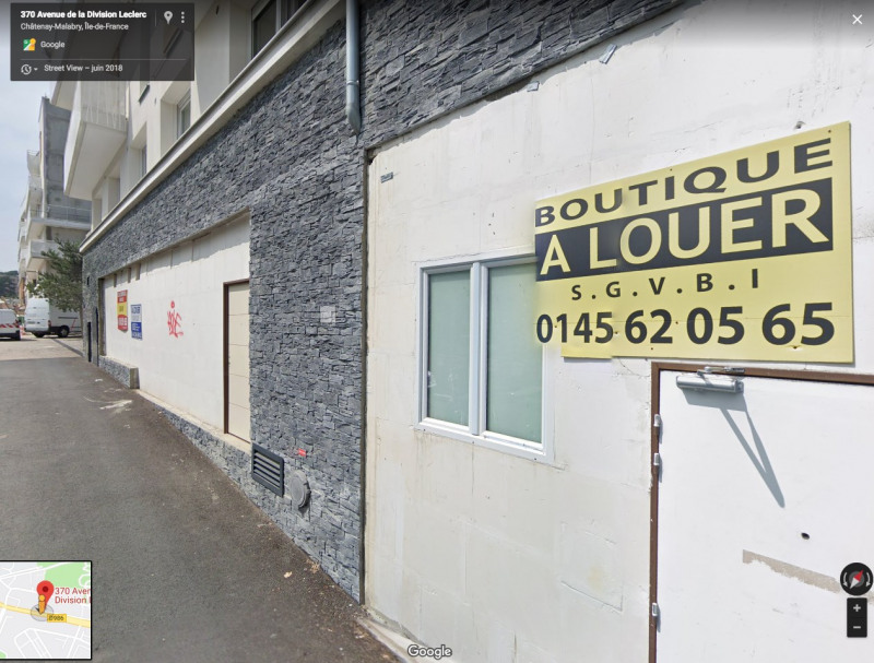 Location Local commercial Châtenay-Malabry