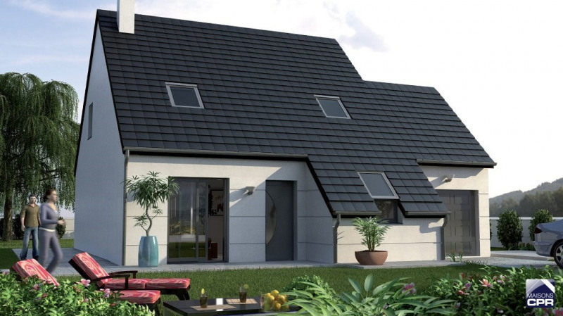Maison  5 pièces + Terrain 1400 m² Amilly par MAISONS CPR