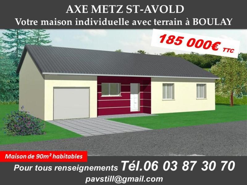 Maison  5 pièces + Terrain Boulay par PAVILLONS STILL LORRAINE