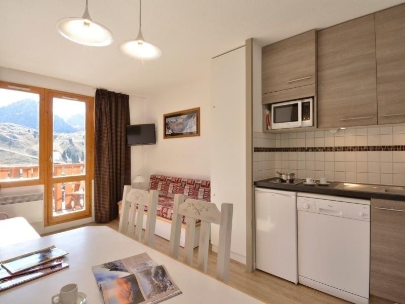 Appartement récemment rénové composé de 3 pièces pour 6 personnes de 34 m2  au pied de pistes