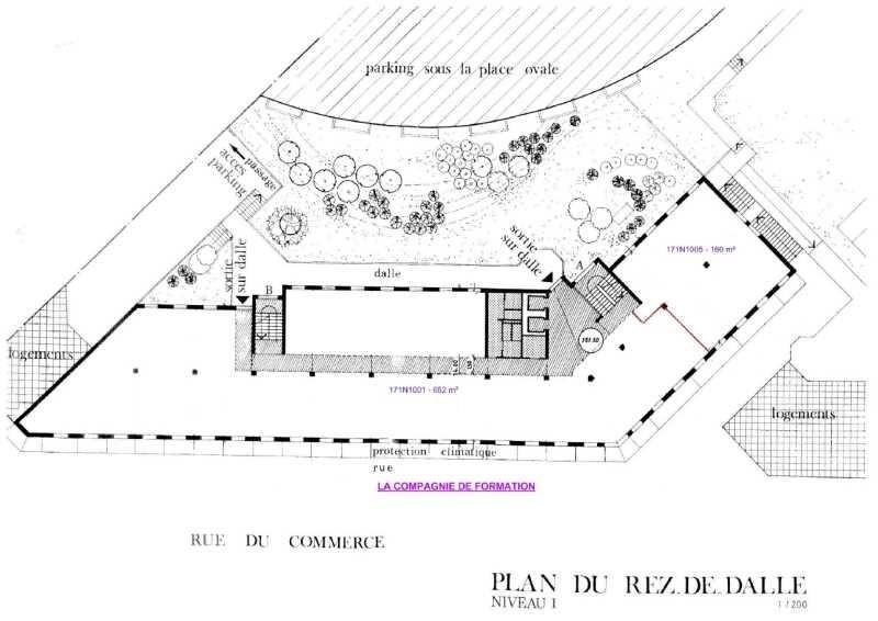 location bureau montigny le bretonneux yvelines 78 642 m r f rence n 488866. Black Bedroom Furniture Sets. Home Design Ideas
