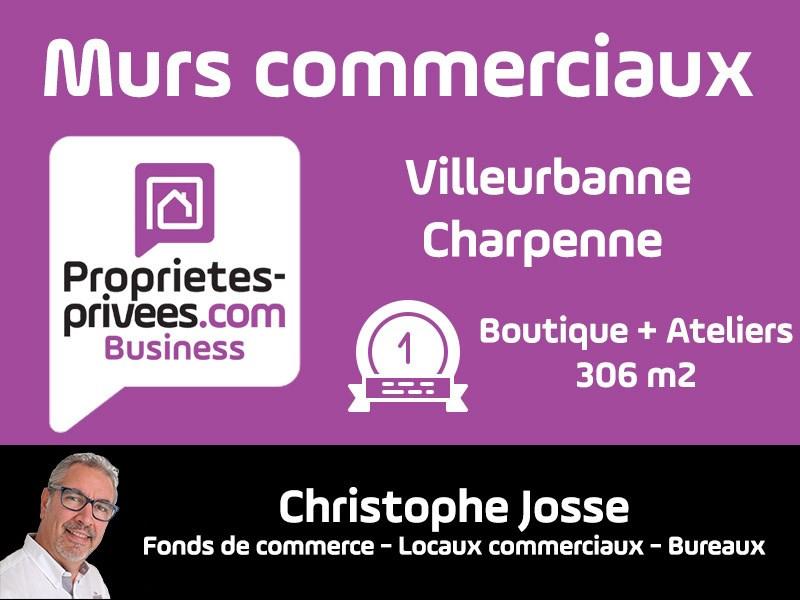 Vente Local commercial Villeurbanne