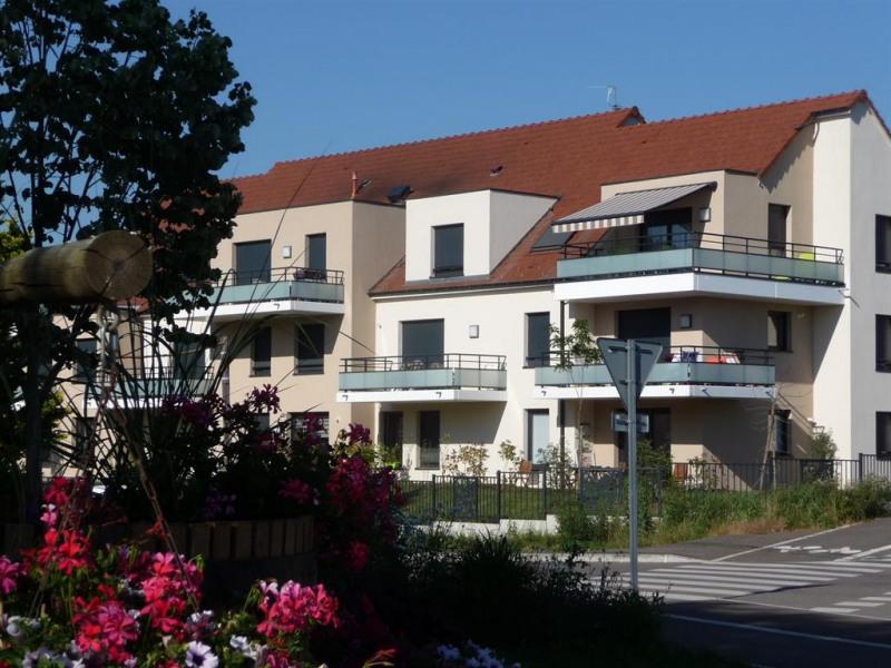 vue de la résidence et de l'appartement