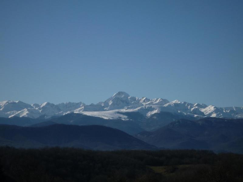 le Mont Valier vu du gite