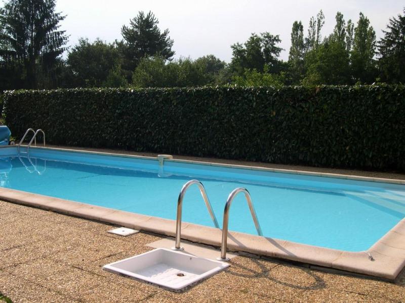 la piscine et ses abords