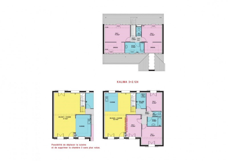 Maison  6 pièces + Terrain 480 m² La Chapelle-Launay par MAISONS PIERRE