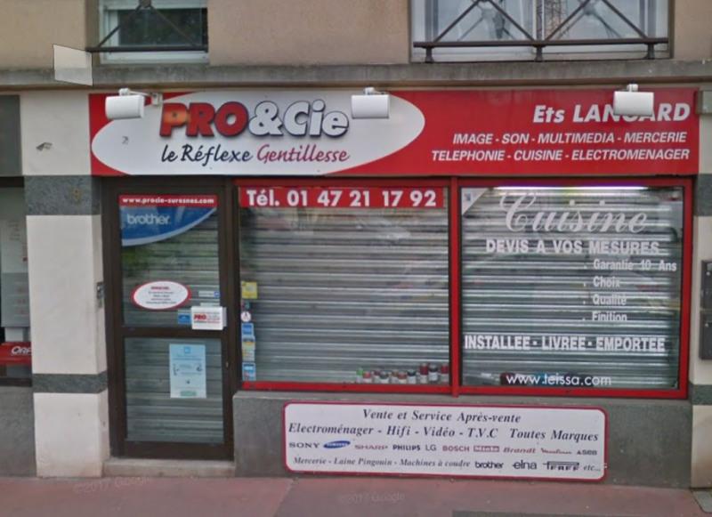 Location Boutique Suresnes