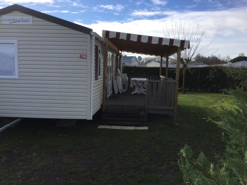 Loue  mobile home 40m* dans camping 4 * avec parc aquatique toutes commodités. Confortable spacieux agréable et au calme