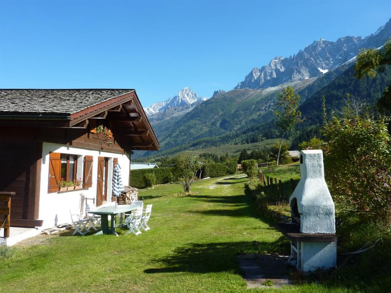 Location vacances Les Houches -  Maison - 8 personnes - Barbecue - Photo N° 1